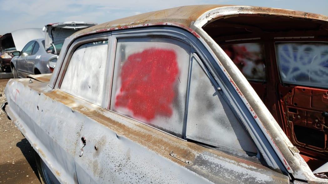 35 - 1962 Chevrolet in Colorado Junkyard - photo by Murilee Martin