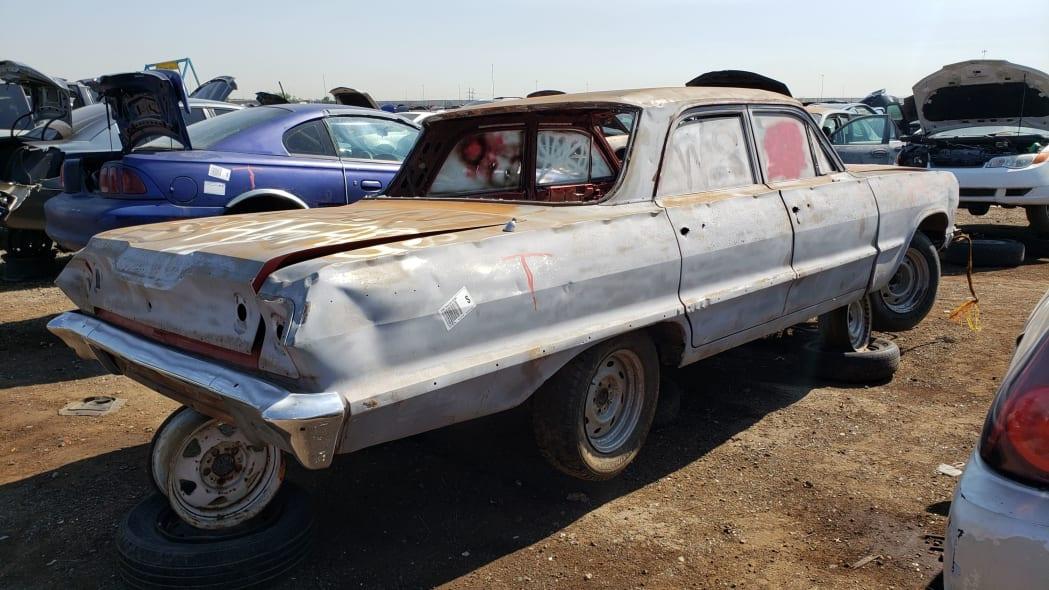 38 - 1962 Chevrolet in Colorado Junkyard - photo by Murilee Martin