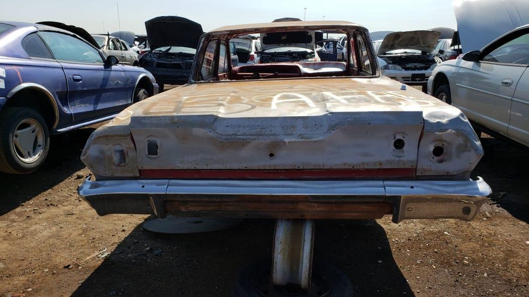 42 - 1962 Chevrolet in Colorado Junkyard - photo by Murilee Martin