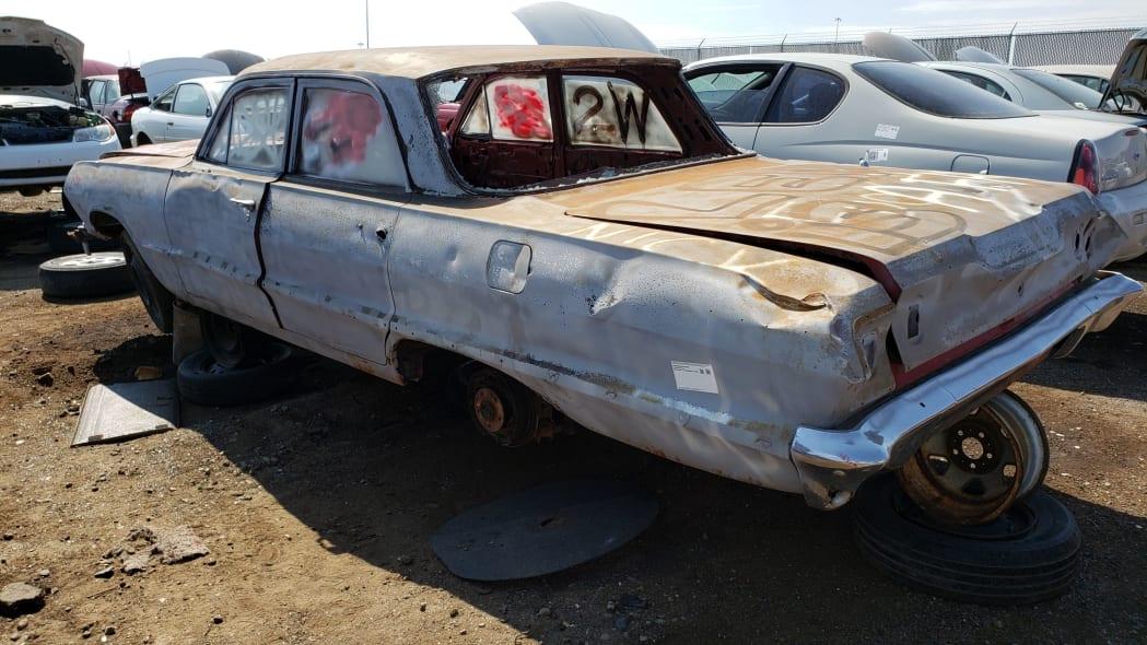 43 - 1962 Chevrolet in Colorado Junkyard - photo by Murilee Martin