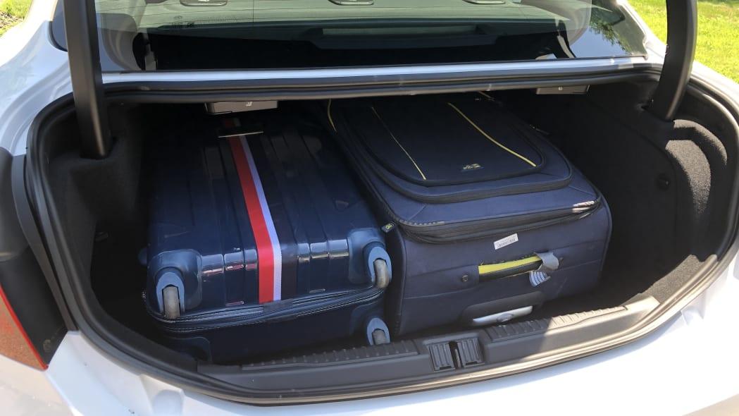 2020 Alfa Romeo Giulia luggage test