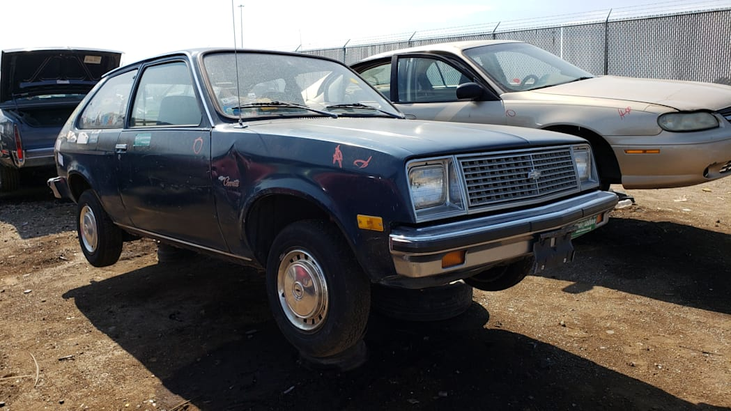 56 - 1979 Chevrolet Chevette in Colorado junkyard - Photo by Murilee Martin