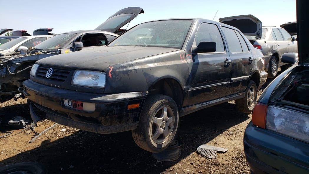 00 - 1997 Volkswagen Jetta Trek Edition in Colorado junkyard - Photo by Murilee Martin