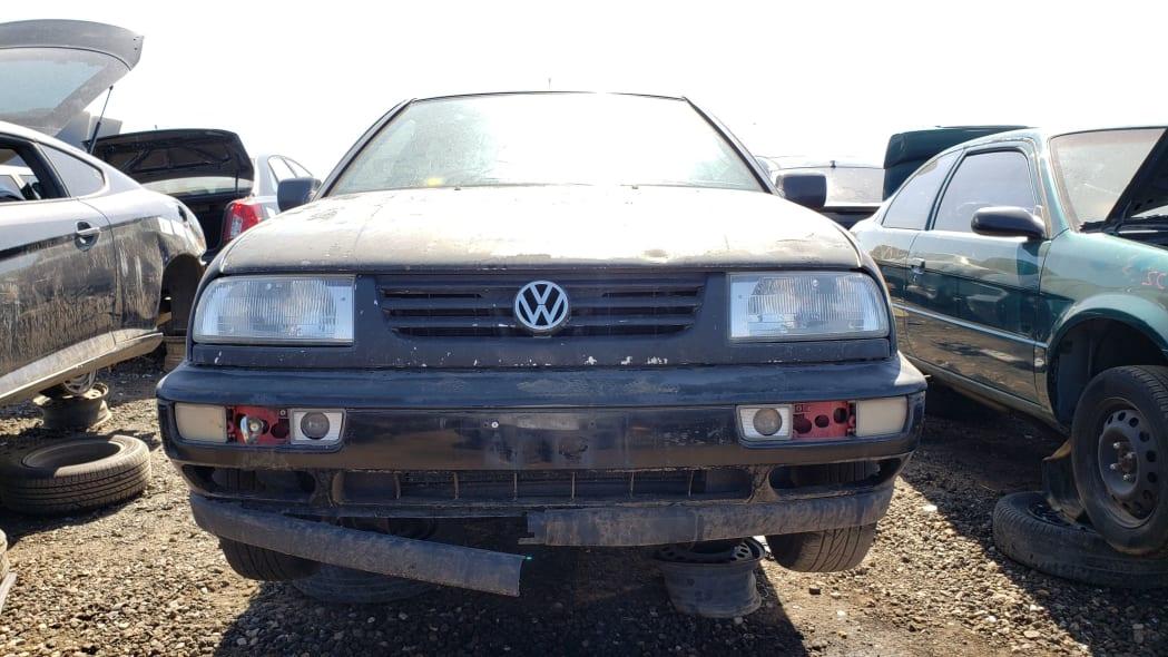 39 - 1997 Volkswagen Jetta Trek Edition in Colorado junkyard - Photo by Murilee Martin