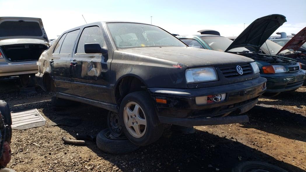 41 - 1997 Volkswagen Jetta Trek Edition in Colorado junkyard - Photo by Murilee Martin
