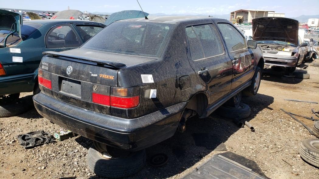 42 - 1997 Volkswagen Jetta Trek Edition in Colorado junkyard - Photo by Murilee Martin