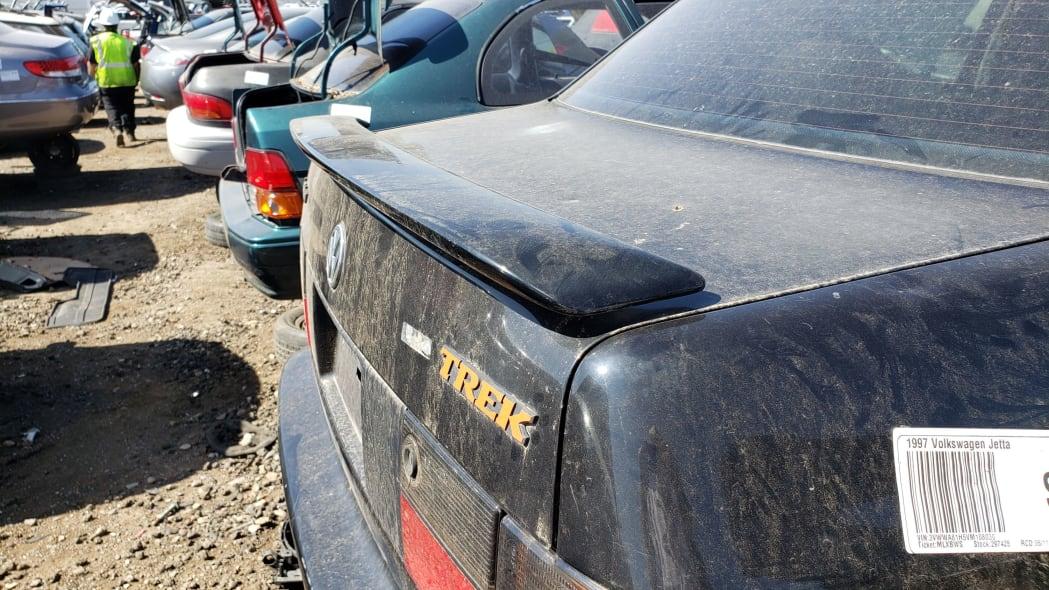 44 - 1997 Volkswagen Jetta Trek Edition in Colorado junkyard - Photo by Murilee Martin
