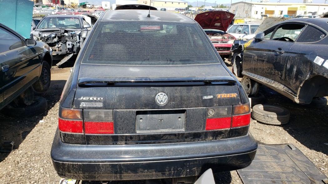 46 - 1997 Volkswagen Jetta Trek Edition in Colorado junkyard - Photo by Murilee Martin
