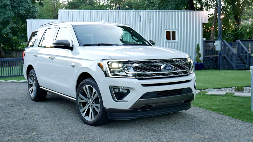 2020 Ford Expedition King Ranch front three quarter