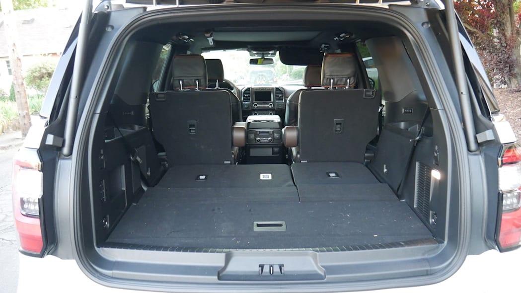 2020 Ford Expedition King Ranch cargo third row down