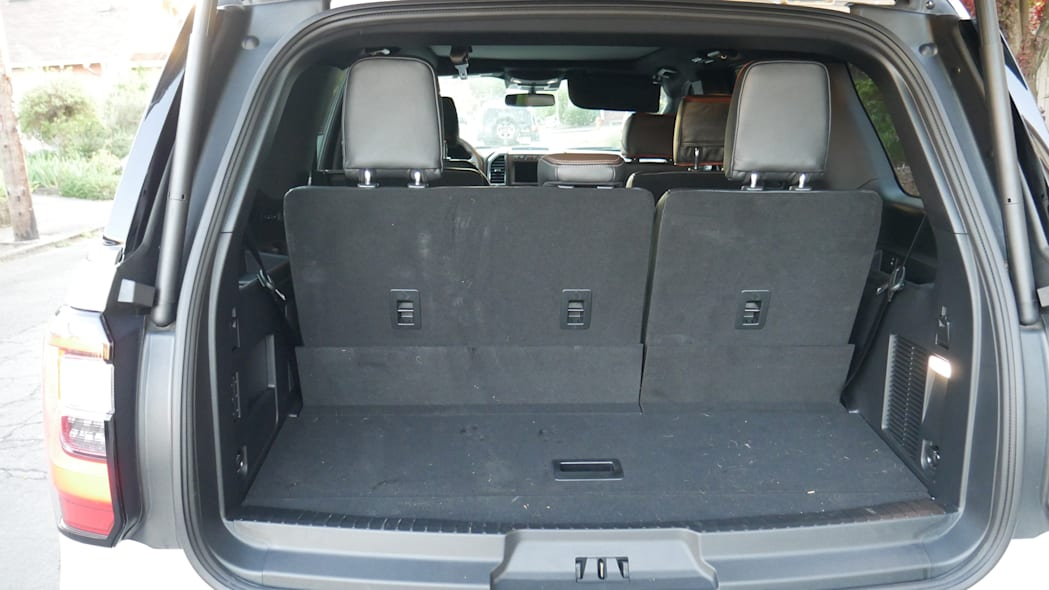2020 Ford Expedition King Ranch cargo third row up