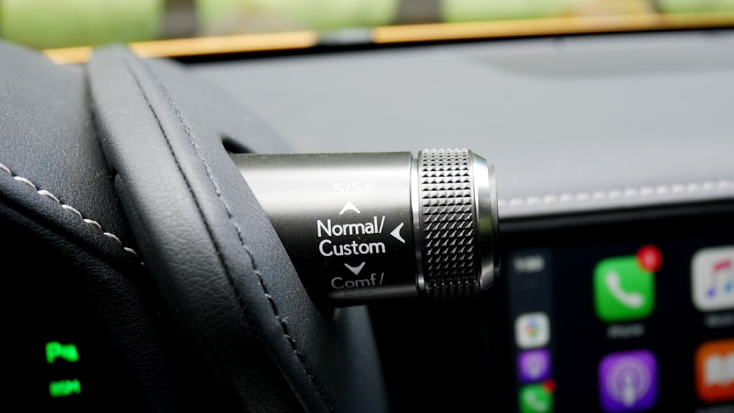 2021 Lexus LC 500 Convertible drive modes
