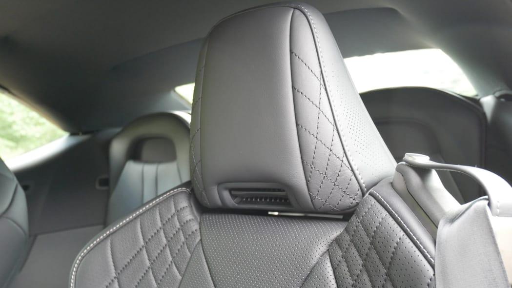 2021 Lexus LC 500 Convertible neck heaters