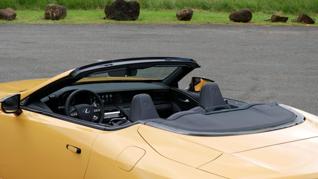2021 Lexus LC 500 Convertible no roof