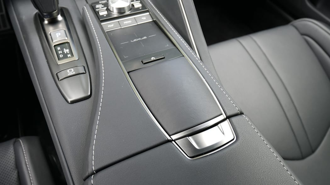 2021 Lexus LC 500 Convertible roof control cover