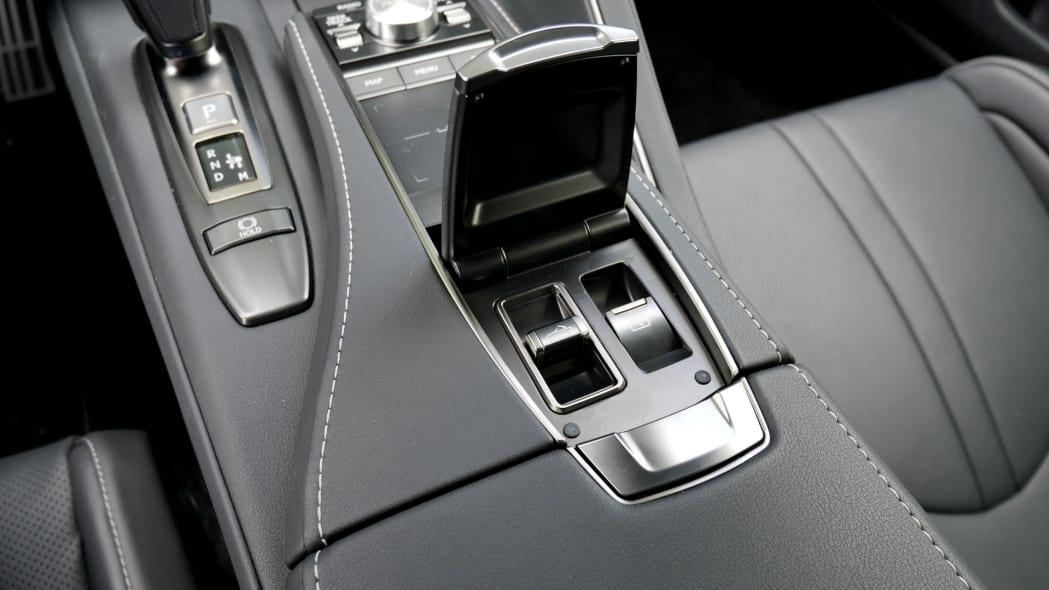2021 Lexus LC 500 Convertible roof controls