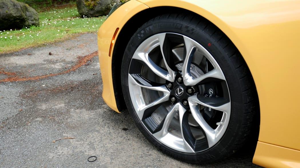 2021 Lexus LC 500 Convertible wheel 2