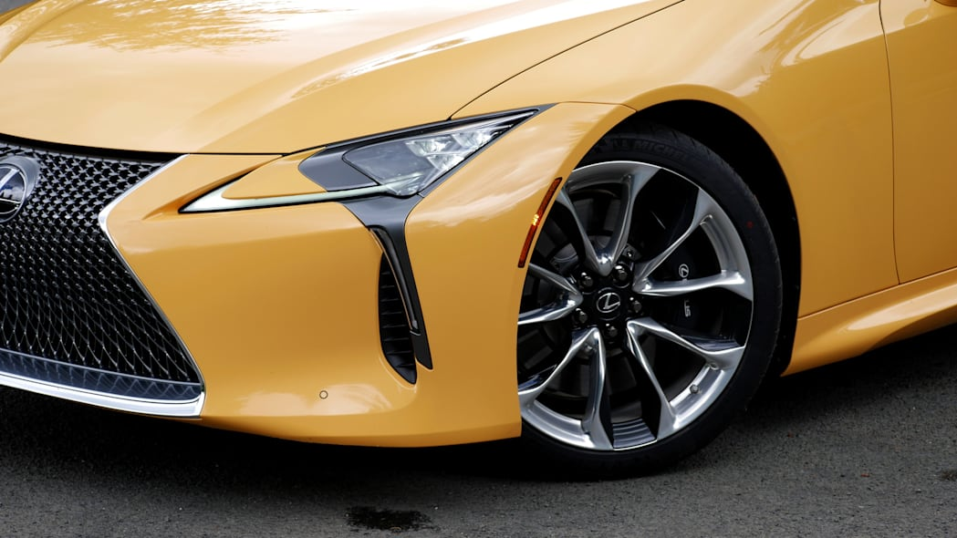2021 Lexus LC 500 Convertible wheel