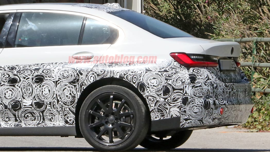Electric BMW 3 Series spied