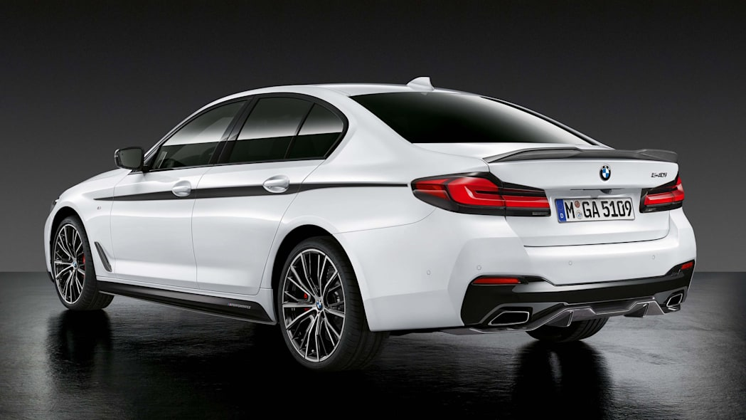 BMW 540i with M Performance parts