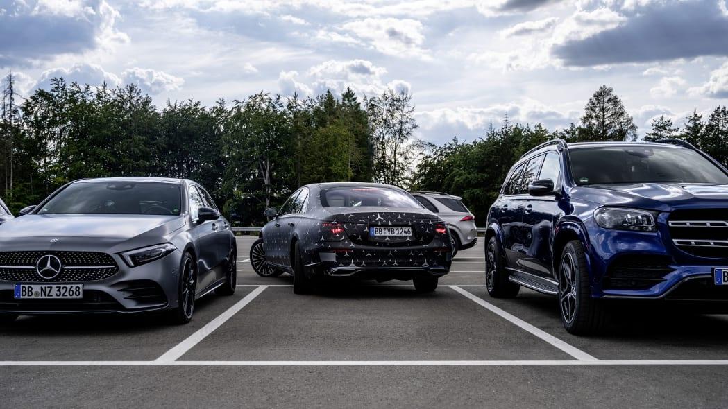 2021 Mercedes-Benz S-Class tech