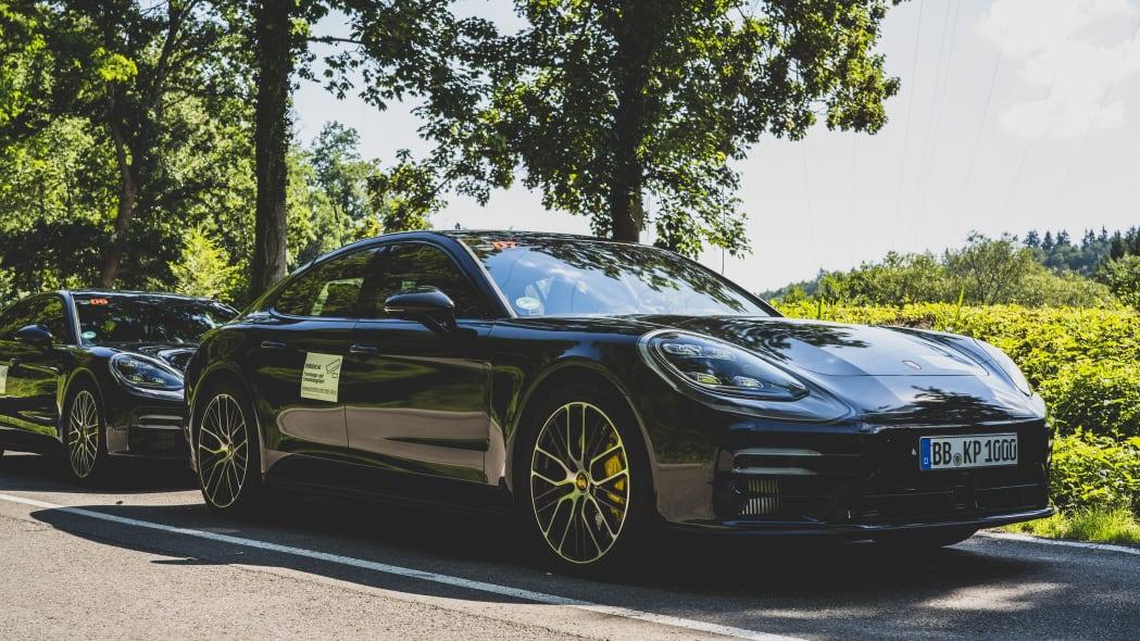2021 Porsche Panamera prototype