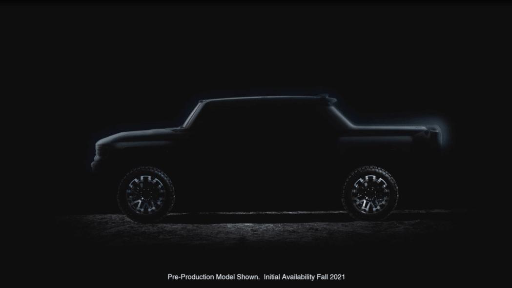 Hummer EV prototype