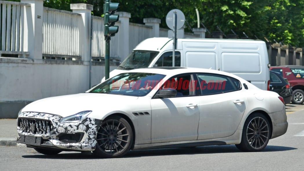 2021 Maserati Quattroporte spied