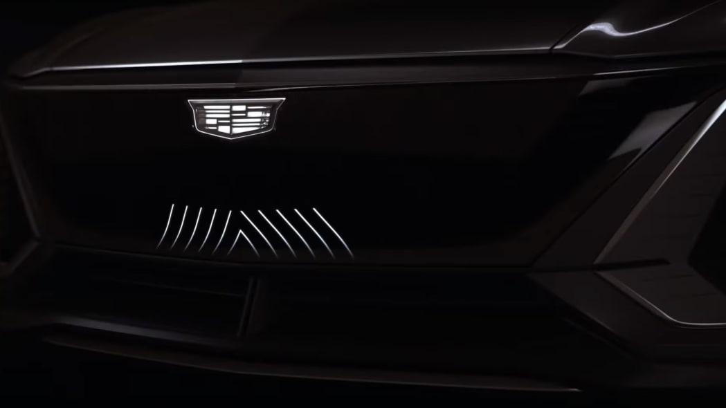 Cadillac Lyriq teaser