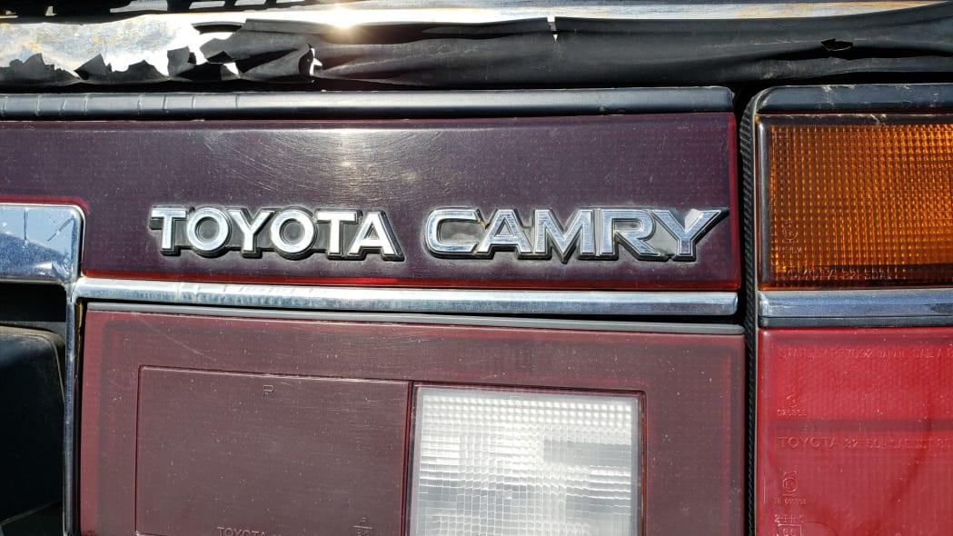 43 - 1987 Toyota Camry Wagon in Colorado junkyard - Photo by Murilee Martin