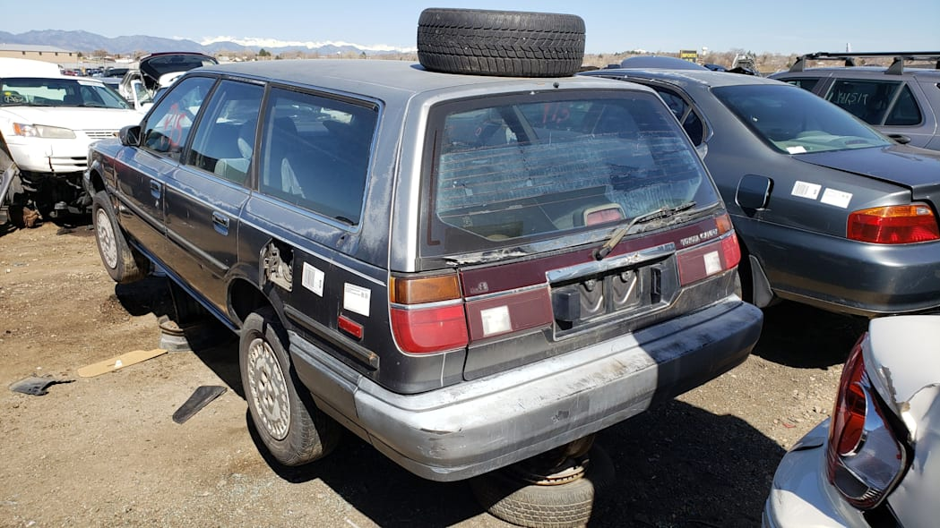 49 - 1987 Toyota Camry Wagon in Colorado junkyard - Photo by Murilee Martin