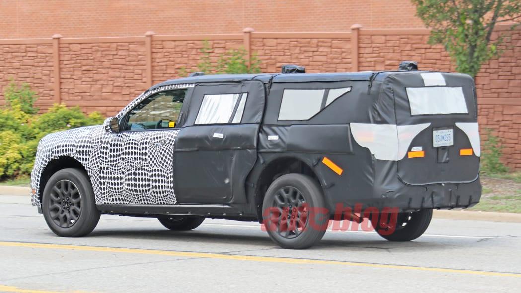 Ford unibody prototype