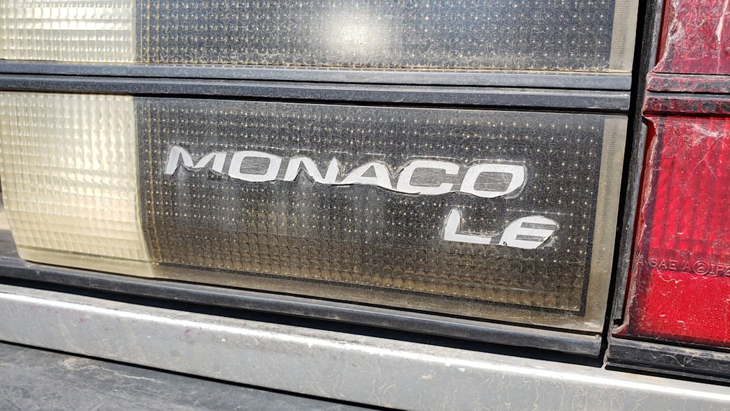 05 - 1991 Dodge Monaco in Colorado junkyard - Photo by Murilee Martin