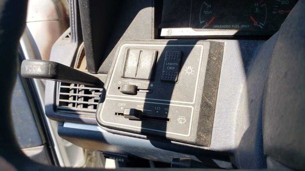 18 - 1991 Dodge Monaco in Colorado junkyard - Photo by Murilee Martin