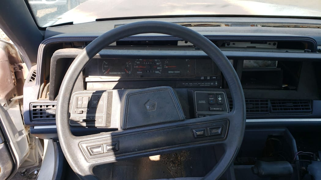 20 - 1991 Dodge Monaco in Colorado junkyard - Photo by Murilee Martin