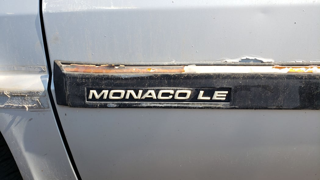30 - 1991 Dodge Monaco in Colorado junkyard - Photo by Murilee Martin