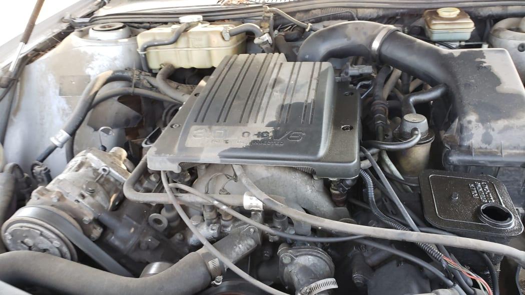 34 - 1991 Dodge Monaco in Colorado junkyard - Photo by Murilee Martin