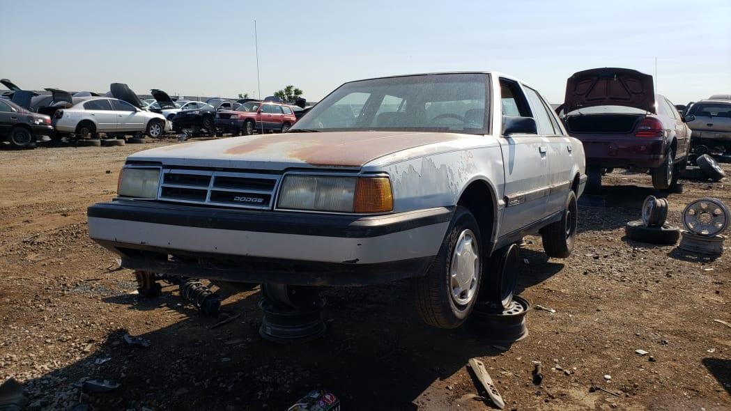 45 - 1991 Dodge Monaco in Colorado junkyard - Photo by Murilee Martin