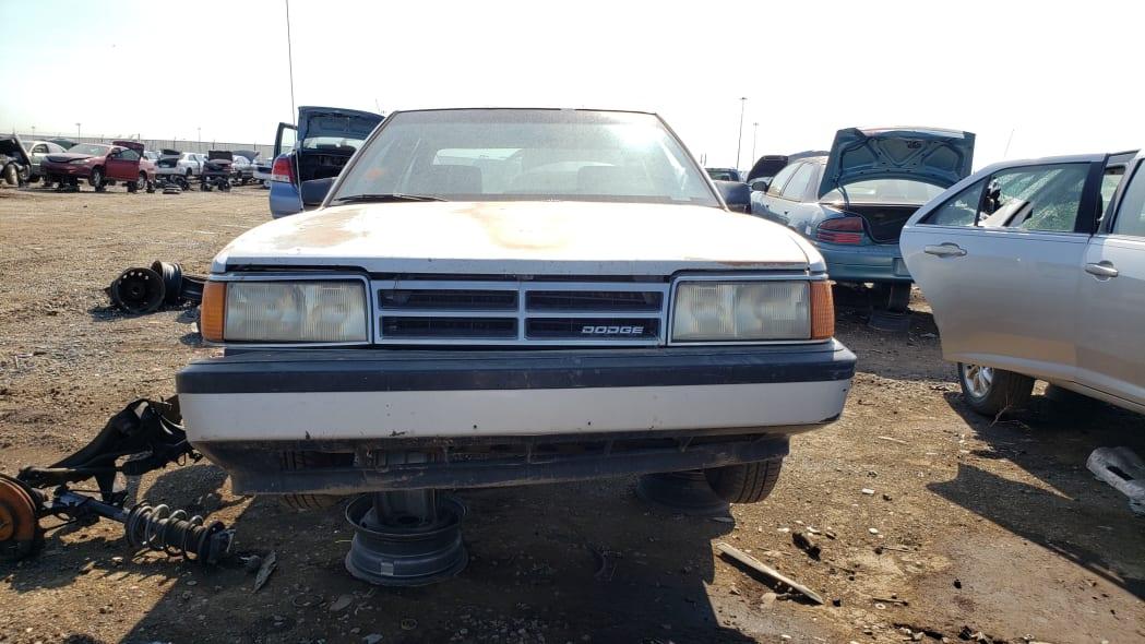 48 - 1991 Dodge Monaco in Colorado junkyard - Photo by Murilee Martin