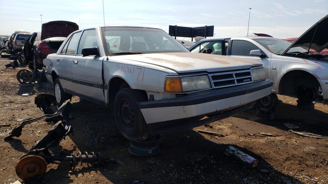 51 - 1991 Dodge Monaco in Colorado junkyard - Photo by Murilee Martin