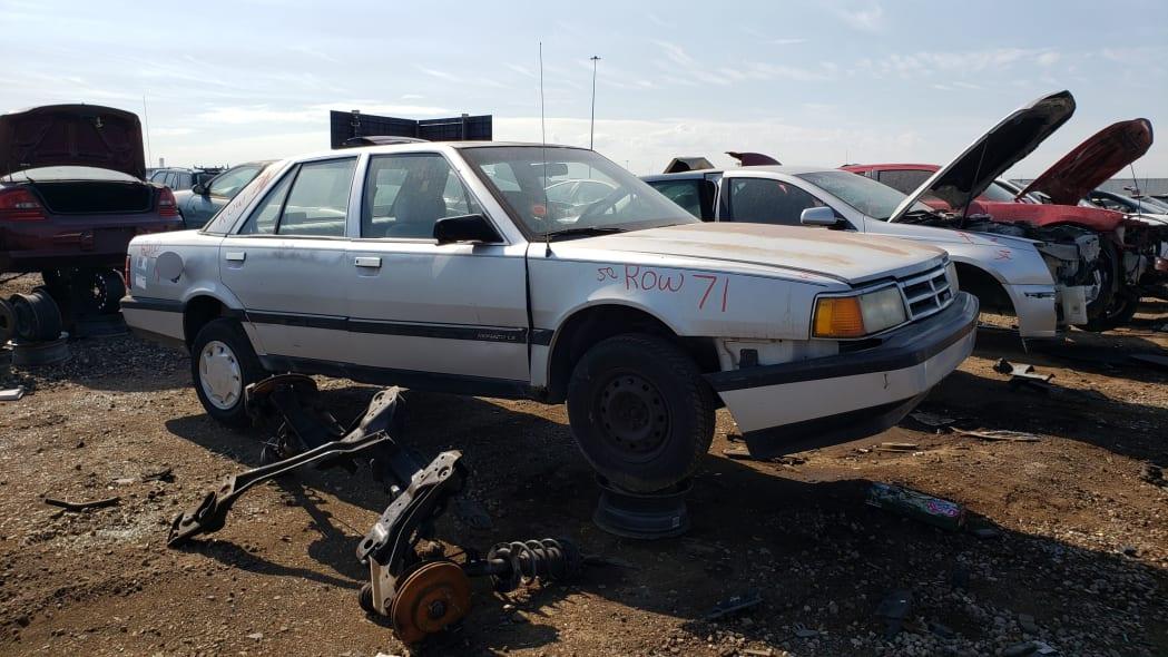 52 - 1991 Dodge Monaco in Colorado junkyard - Photo by Murilee Martin
