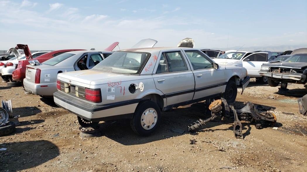 56 - 1991 Dodge Monaco in Colorado junkyard - Photo by Murilee Martin