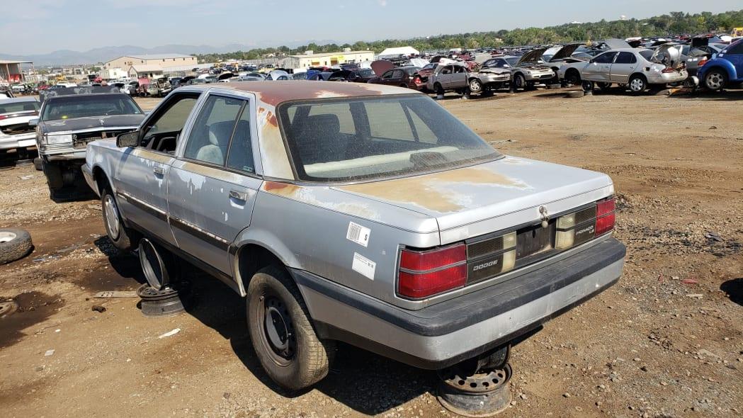 66 - 1991 Dodge Monaco in Colorado junkyard - Photo by Murilee Martin