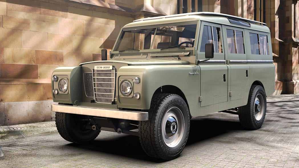 Zero Labs Land Rover Series III
