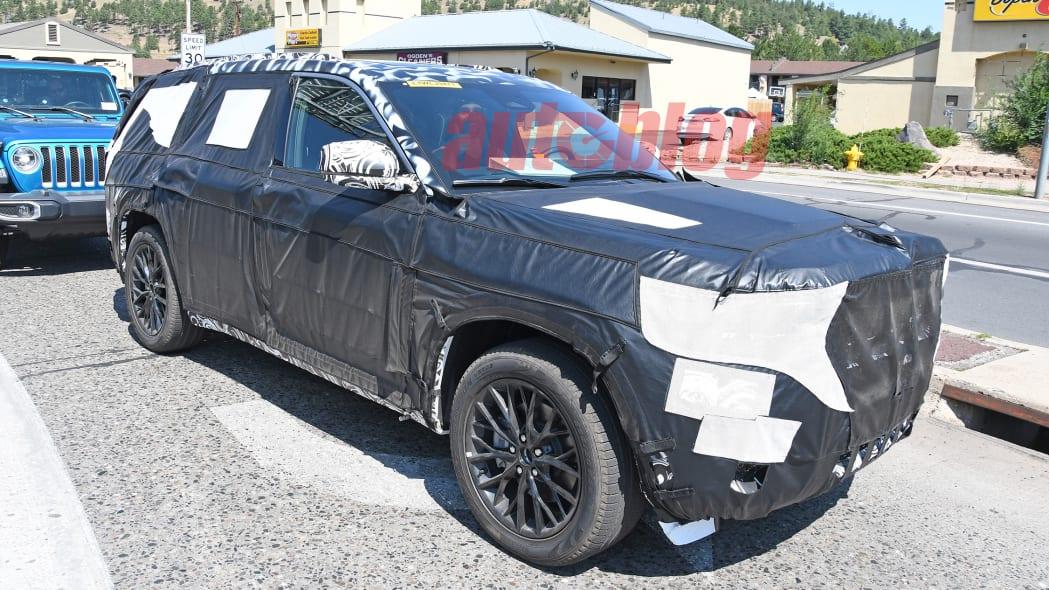 Jeep Grand Cherokee prototype