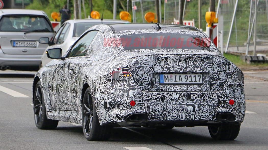 Next-gen BMW M240i spied
