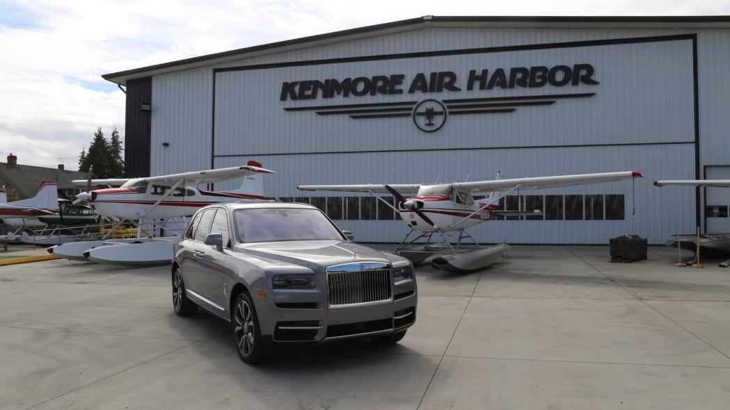 Rolls-Royce Cullinan / Greg Rasa (appreciation to Kenmore Air)