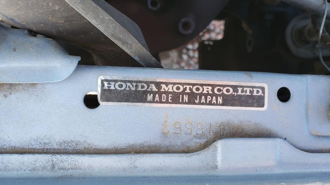17 - 1984 Honda Civic 1300 Hatcback in Colorado junkyard - Photo by Murilee Martin