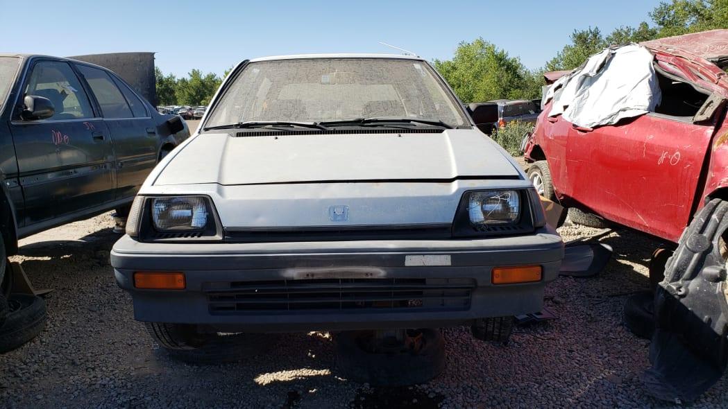20 - 1984 Honda Civic 1300 Hatcback in Colorado junkyard - Photo by Murilee Martin