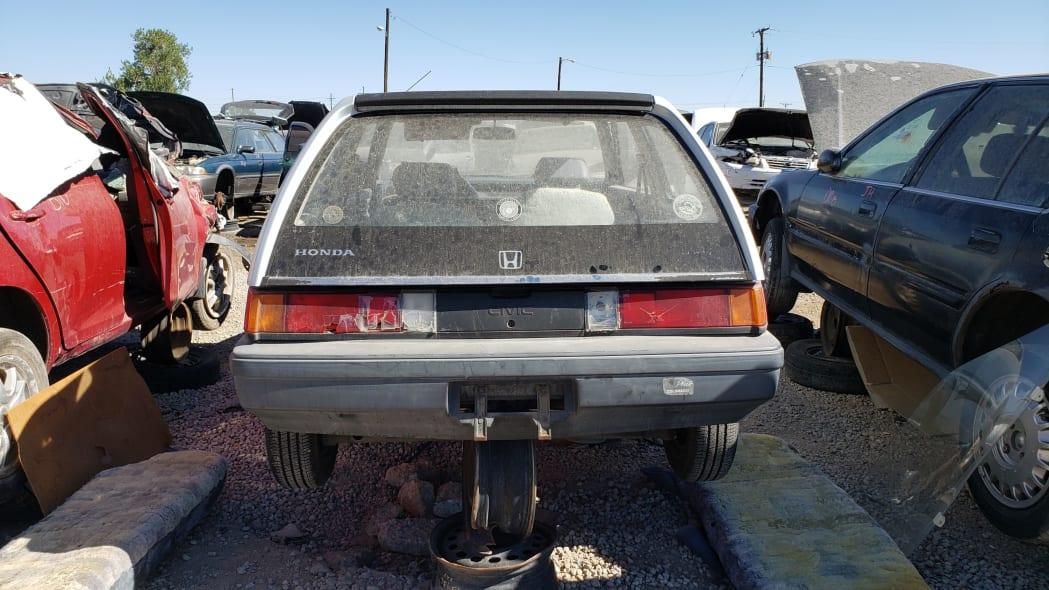 41 - 1984 Honda Civic 1300 Hatcback in Colorado junkyard - Photo by Murilee Martin